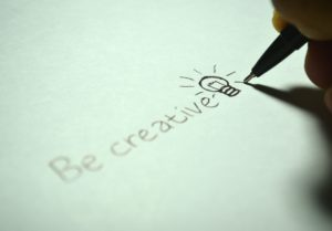 Creating content for websites and blogs, be creative, creating content