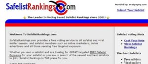 Join the top ranking safelists.